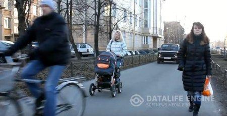 СтопХамСПб - Сумашедшая езда бабы за рулем